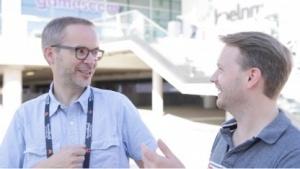 Peter Steinlechner und Michael Wieczorek auf der Gamescom 2016
