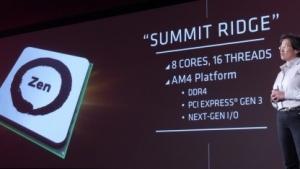 Summit Ridge ist AMDs CPU-Hoffnung 2017.