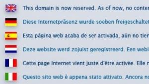Ein solcher Hinweis, wie dieser bei Strato, kann zum Verlust einer Domain führen.