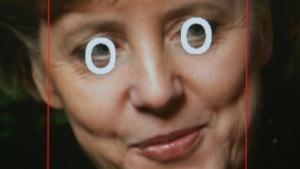 Angela Merkel dürfte auch ohne Gesichtserkennungssoftware meist erkannt werden.