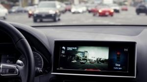 Delphi führte bereits auf der CES 2016 ein autonomes Testauto vor.