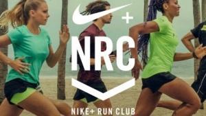 Startbildschirm von Nike+ Run Club (App auf iOS)