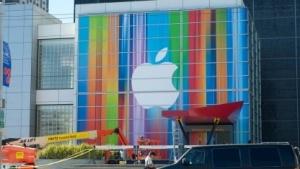 Apple-Geschäft in San Francisco: Wettbewerbskommissarin Margrethe Vestager will eine Empfehlung über die Höhe einer Nachzahlung abgeben.