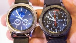 Die beiden Gear-S3-Modelle von Samsung