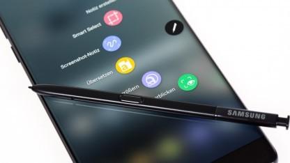 Samsung hat das Galaxy Note 7 repariert.