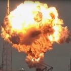 SpaceX: Falcon-9-Rakete bei Test auf Startrampe explodiert