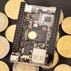 9-Dollar-Chip von Next Thing ausprobiert: Das kleine Schwarze zum Basteln und Spielen