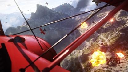 Flugzeug in Battlefield 1