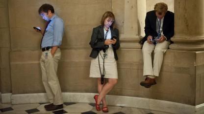 Smartphone- statt Zigarettenpause
