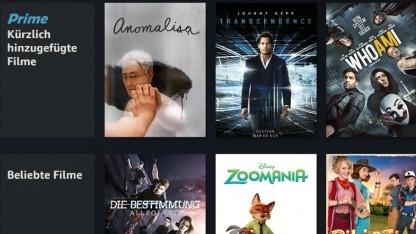 Amazon hat alle Prime-Markierungen auf der Fire-TV-Oberfläche gelöscht.