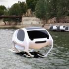 Sea Bubbles: Wassertaxis schweben über die Seine