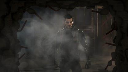 Protagonist Adam Jensen in Deus Ex Mankind Divided