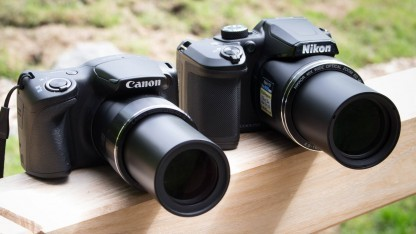 Volles Rohr Zoom: 40- und 42fach vergrößern die beiden Kameras.
