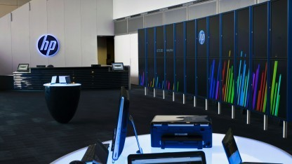 HP Labs Palo Alto Lobby