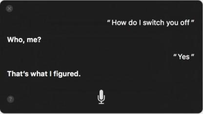 Sierra bietet vor allem den Sprachassistenten Siri als Neuerung.