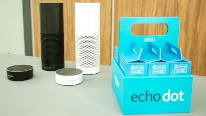 Amazons Echo und Echo Dot erscheinen Ende Oktober.