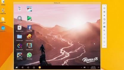 Remix OS Player für Windows-Systeme