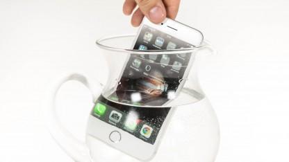Apples iPhone 7 ist gegen eindringendes Wasser geschützt.