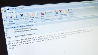 Deutsche Politiker bekamen E-Mails mit Malware.