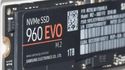 Die 960 Evo gibt es ab 256 GByte für 130 US-Dollar.