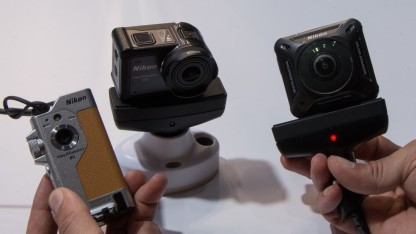 Nikons Key-Mission-Serie, benannt nach dem Aufnahmewinkel