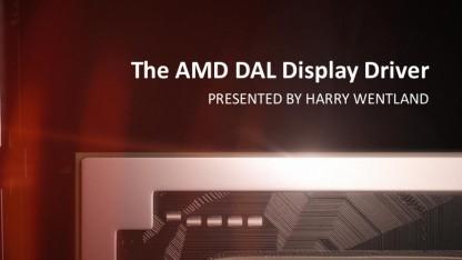Der AMD DAL-Treiber ist auf Linux ausgelegt.
