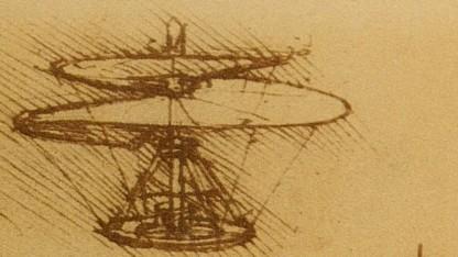 Luftschraube von Leonardo da Vinci
