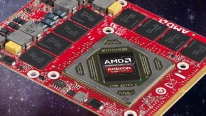Bilder einer älteren Embedded Radeon