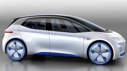 Volkswagen ID ist aerodynamisch vorteilhaft