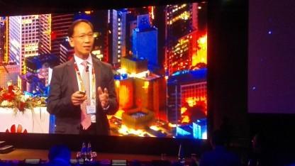 Peter Lam, Managing Director Engineering PCCW-HKT, heute auf dem UBBF 2016