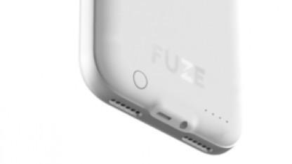 Die iPhone-Hülle Fuze hat einen eingebauten Klinkenanschluss.