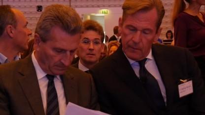 Günther Oettinger zu Besuch bei Freunden.