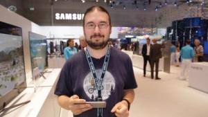 Golem.de-Redakteur Tobias Költzsch im Ifa-Einsatz