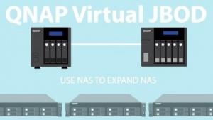 Mit VJBOD bietet Qnap eine weitere Methode, Speicherplatz zu erweitern.