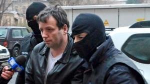 Marcel Lazar bei seiner Verhaftung