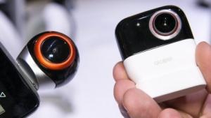 Die beiden Versionen der 360 Camera von Alcatel