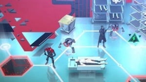 Die Welt von Deus Ex Go