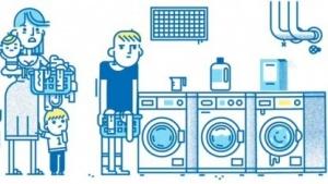 We Wash: keine Wartezeit mehr an der Haus-eigenen Waschmaschine