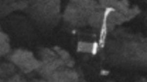 Lander Philae: Seine Lage erklärt die Kommunikationsprobleme.