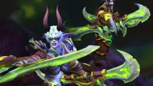 Ein Dämonenjäger in Legion, der sechsten Erweiterung für World of Warcraft