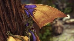 Ein Tapejara-Flugsaurier