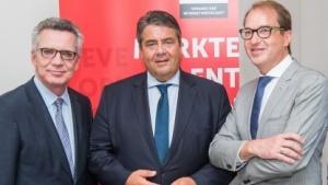 Die Digitale Agenda ist ein Produkt von drei Ministern: Alexander Dobrindt, Sigmar Gabriel und Thomas de Maizière (vrln.).