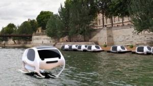 Foilendes Wassertaxi Sea Bubble: in Zukunft autonom unterwegs