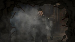 Protagonist Adam Jensen in Deus Ex Mankind Divided