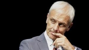 VW-Vorstandsvorsitzender Matthias Müller: E-Mobilität nicht mit der nötigen Intensität betrieben
