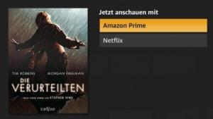 Netflix-Inhalte sind in der Fire-TV-Oberfläche enthalten.