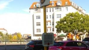 Neue Technik an der Bushaltestelle