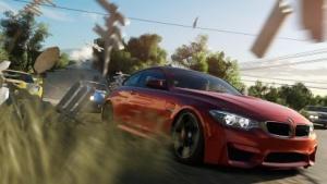 Mit dem BMW geht es durch das Australien von Forza Horizon 3