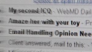 Mails mit mutmaßlich nicht ehrlich gemeintem Inhalt