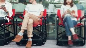Propilot Chair mit Kameras und Drucksensor